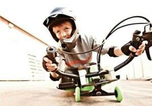 موتوری-بین-اسکیت-و-دوچرخه