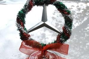 لوگو-مرسدس-بنز-کریسمس