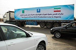 بازارهای عمده صادراتی ایران خودرو