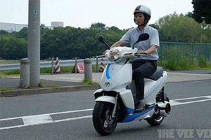 ورود موتور سیکلت های برقی ژاپنی به ایران