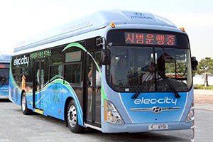اولین اتوبوس الکتریکی هیوندایی