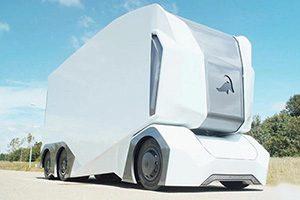 رونمایی اینراید از کامیون خودران T-Pod
