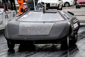 ثبت رکورد مسابقات درگ خودرو های تمام الکتریکی