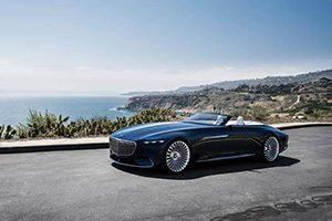 ورود لوکسترین خودرو ی بدون سقف به کالیفرنیا