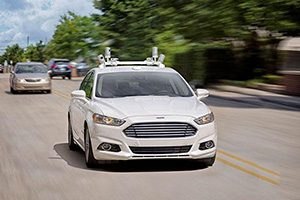عرضه ی خودروهای بدون فرمان و پدال فورد تا سال 2021