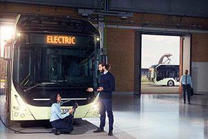 رونمایی از اتوبوس تمام الکتریکی « ولوو »