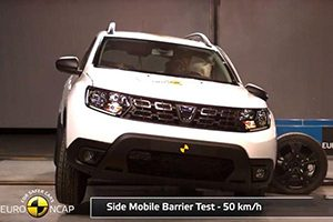 انتشار نتایج تست تصادف خودرو ی رنو « داستر »