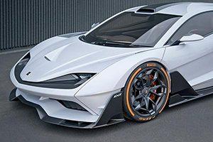 رونمایی از خودرو سوپر اسپرت آریا FXE