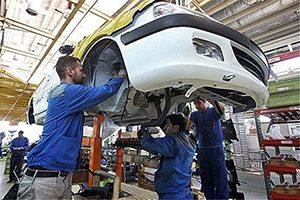 افزایش تولید خودرو در کشور